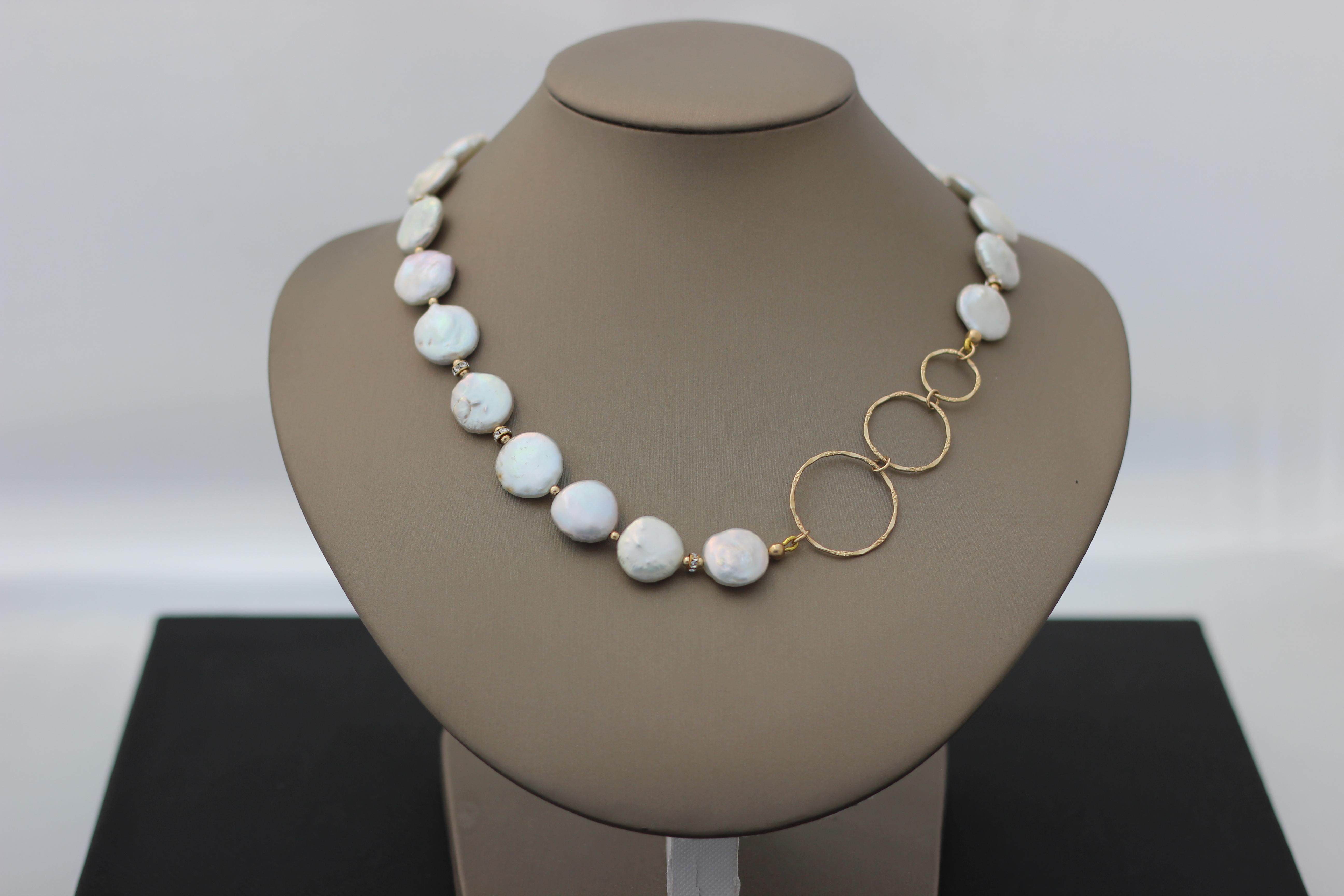 3. Biwa Pearl, Swarovski, Circles | $292