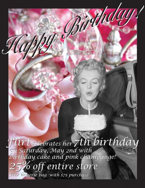 Happy 7th Birthday Flirt!