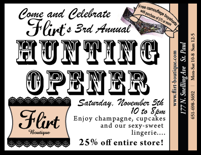 3rd Annual Hunting Opener 2011