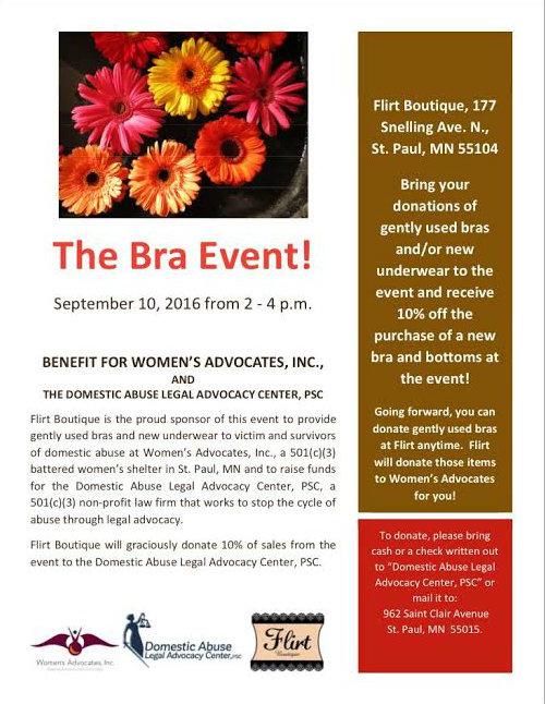 The Bra Event!