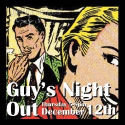 2013 Christmas Guys' Night Out