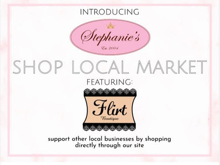 Flirt is teaming up with other local businesses!