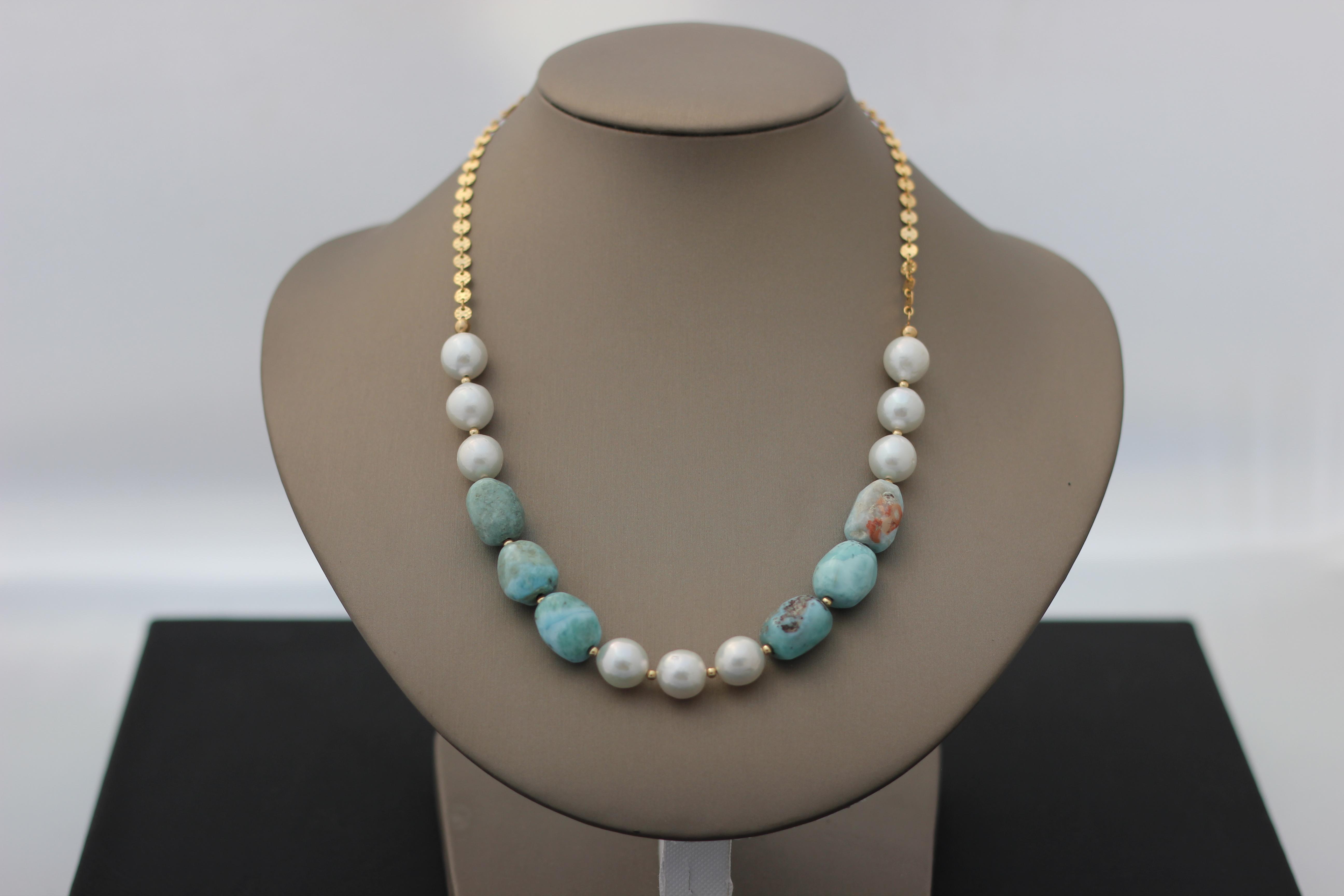 4. Pearl, Larimar | $242