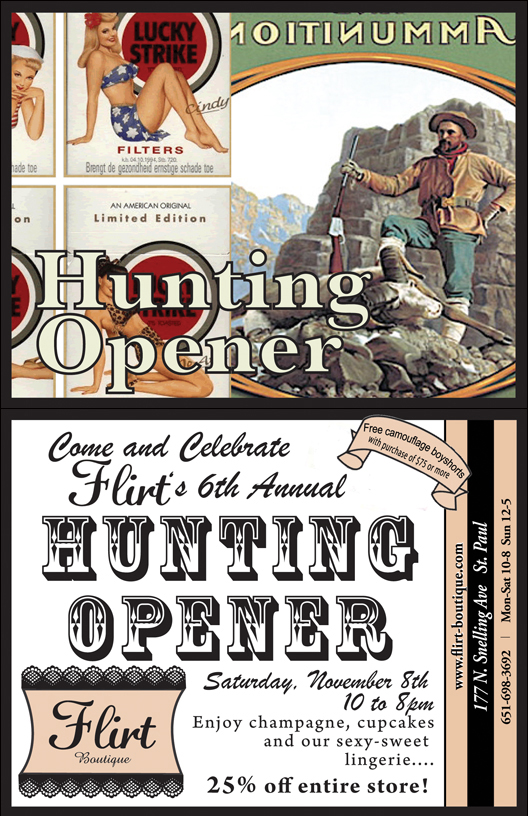 6th Annual Hunting Opener Party