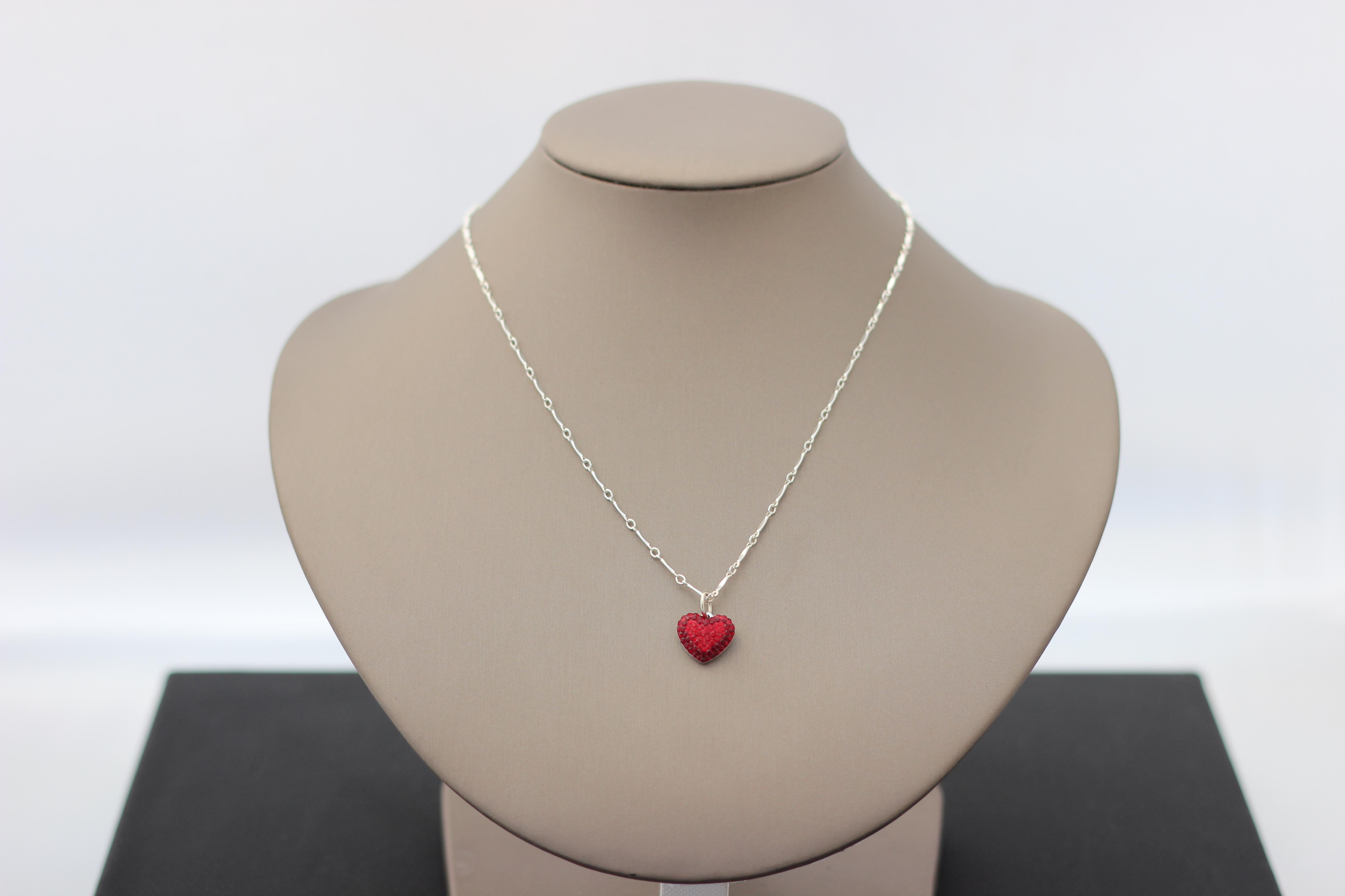 7. Swarovski Pave Heart | $98