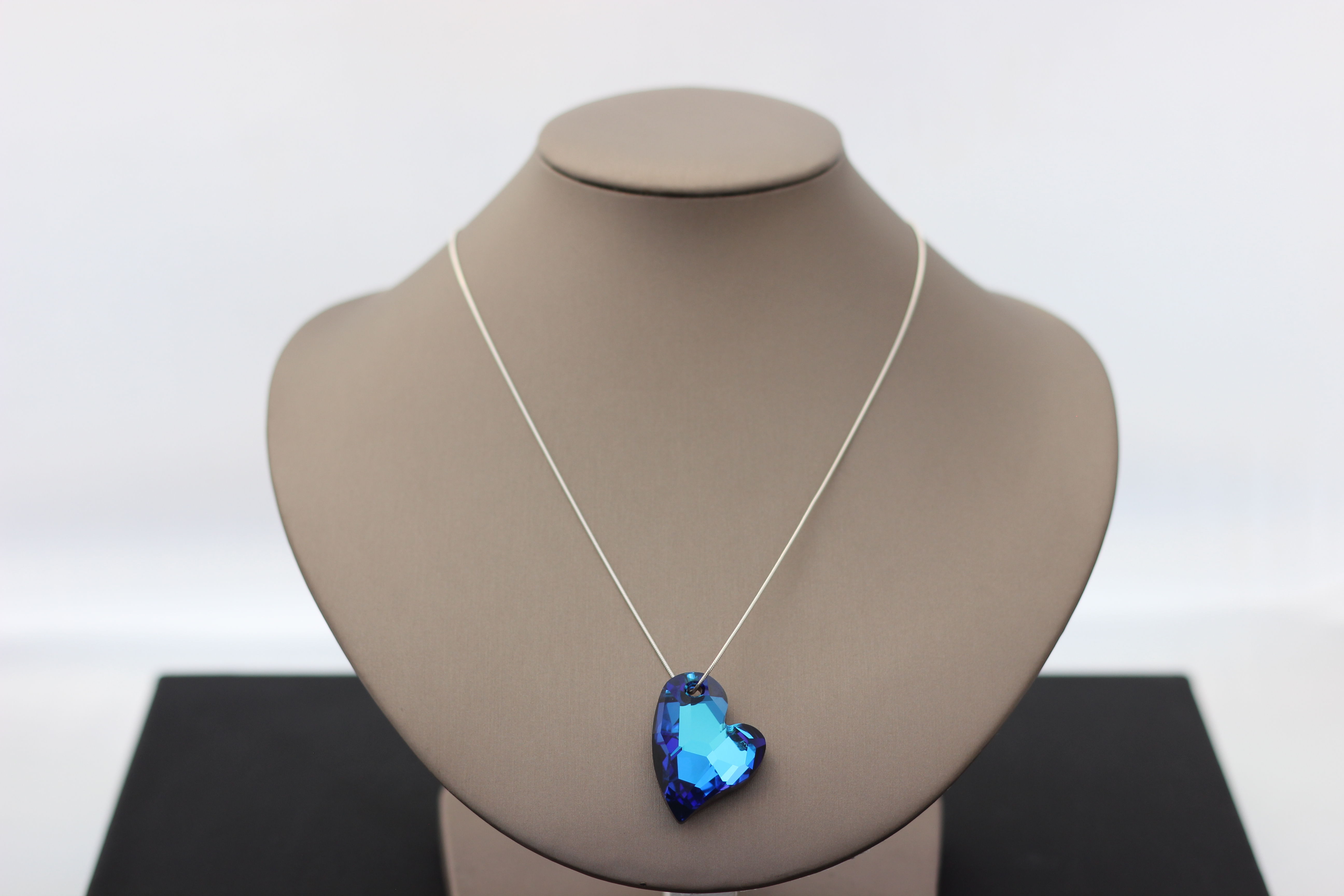 20. Reversible Blue/Slate Swarovski Wild Heart | $168