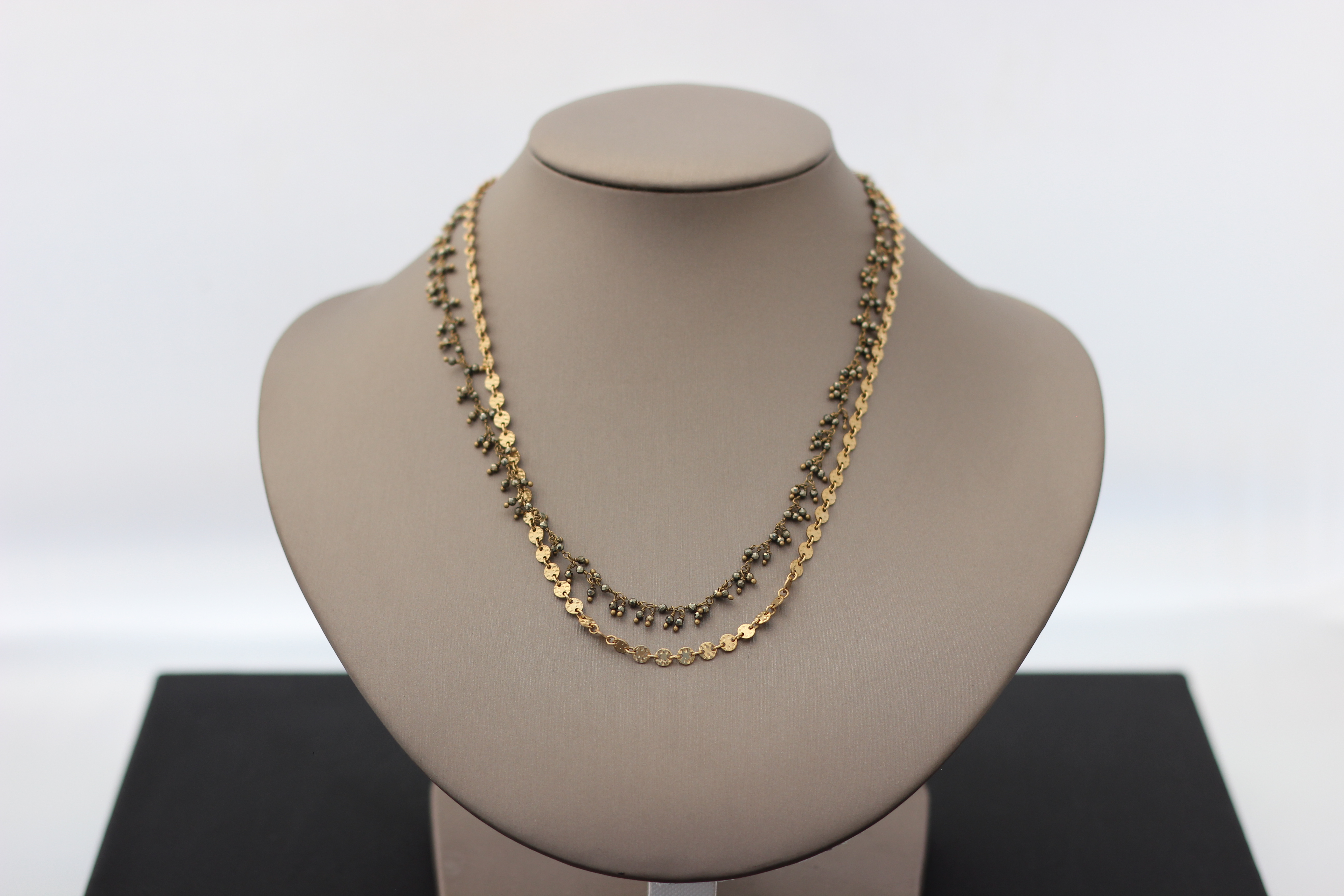 15. Convertible Short/Long, Gold and Pyrite | $198