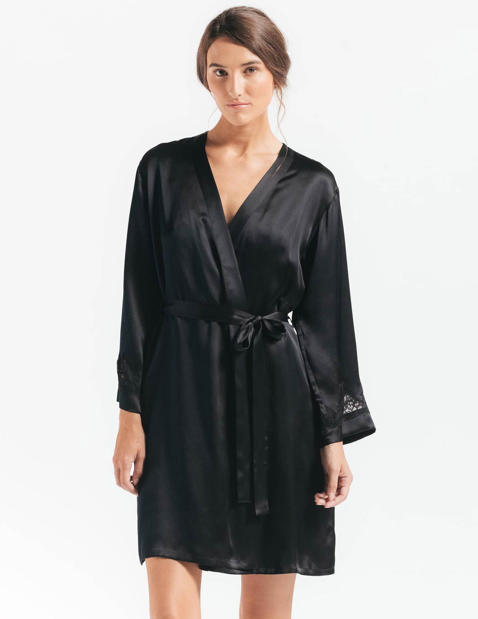 53. Morgan Robe $240. S-L. Black