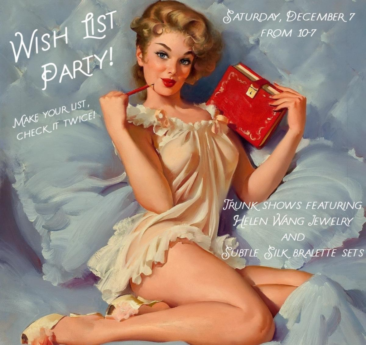 Wish List Party