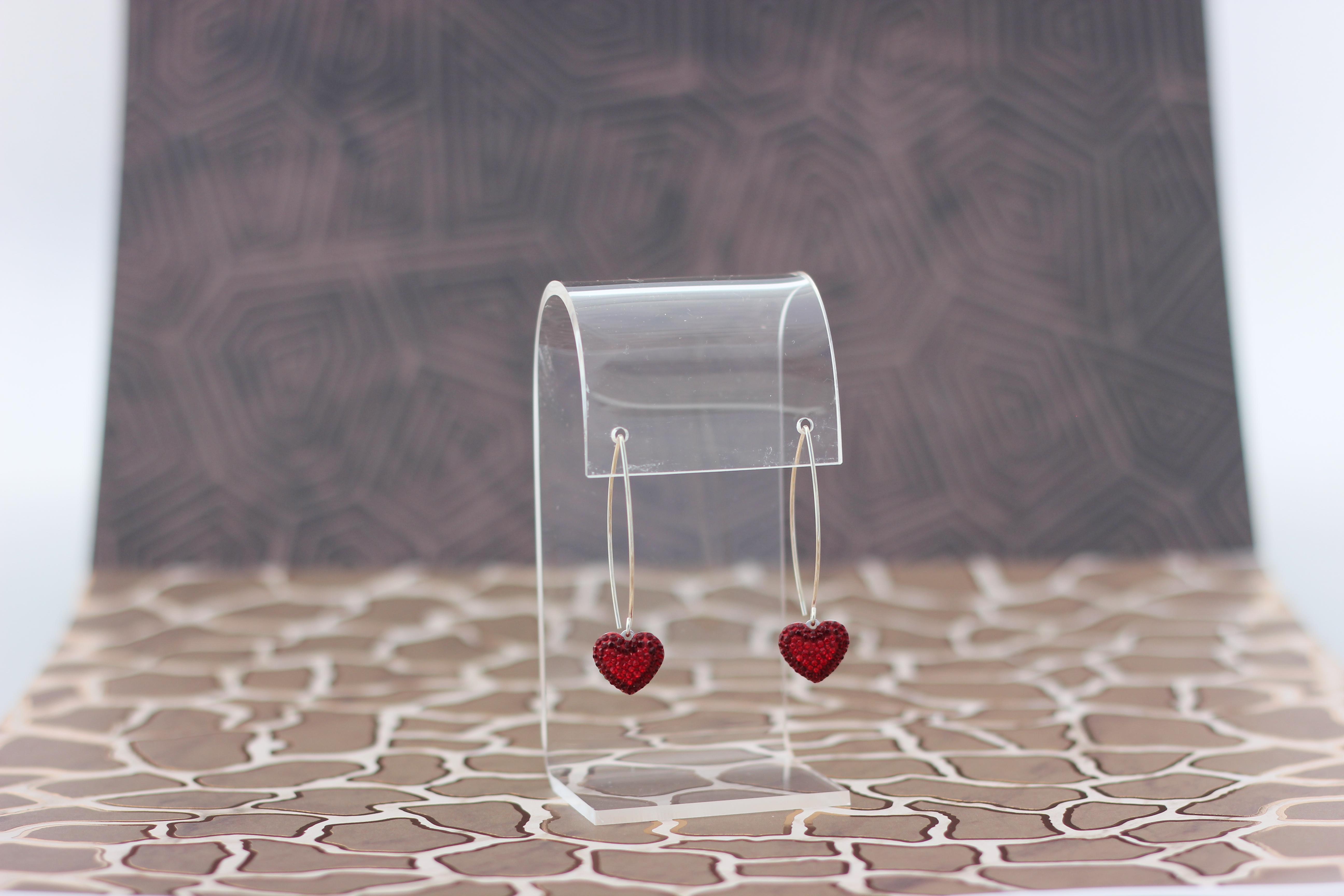 25. Pave Swarovski Heart | $138