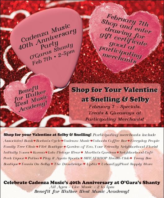 Valentine event at the corner