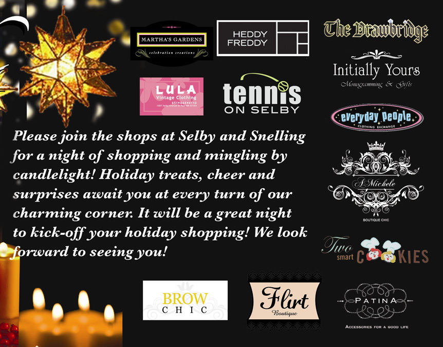 Shop by Candle Light