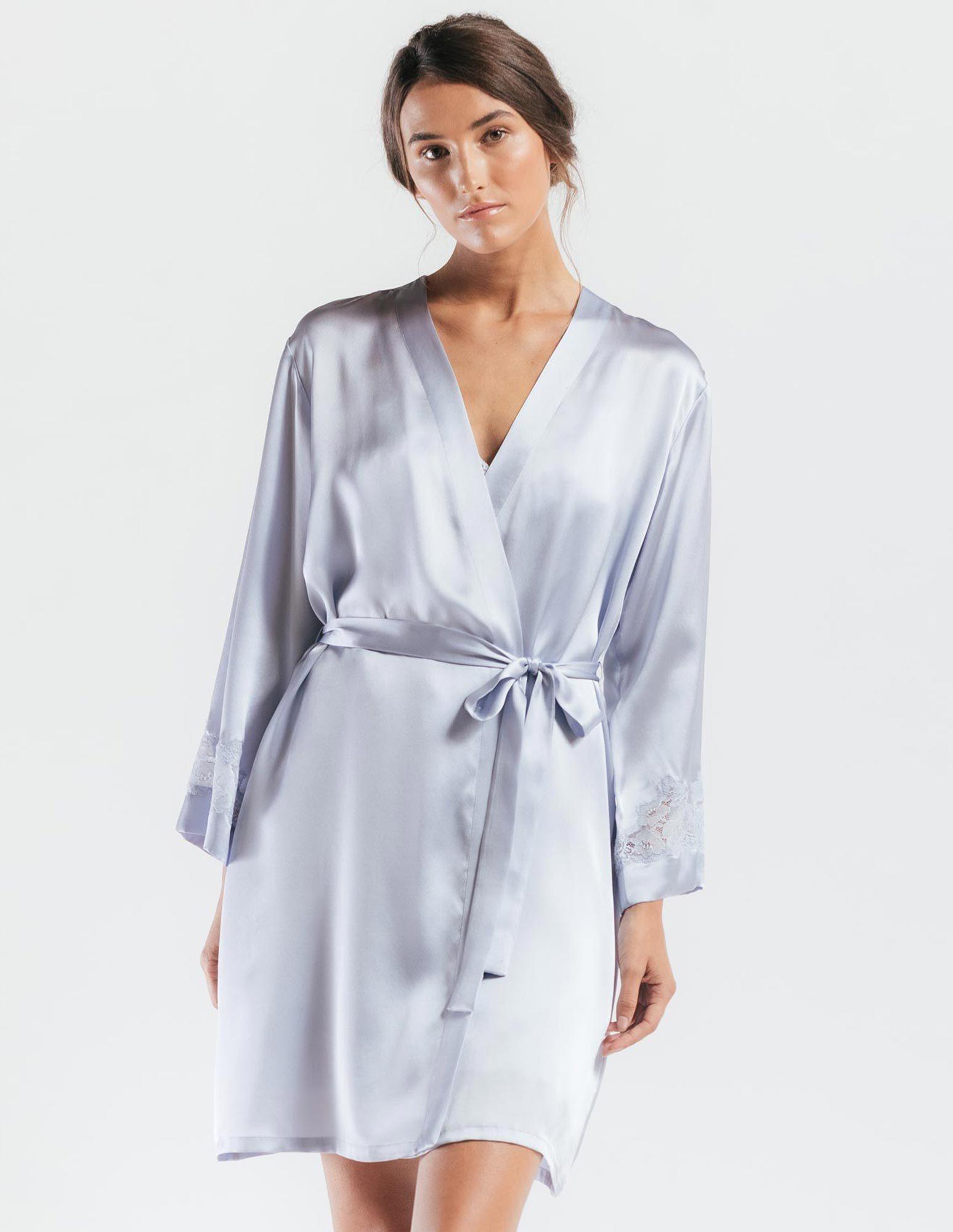 50. Morgan Robe $240. S-L. Iris