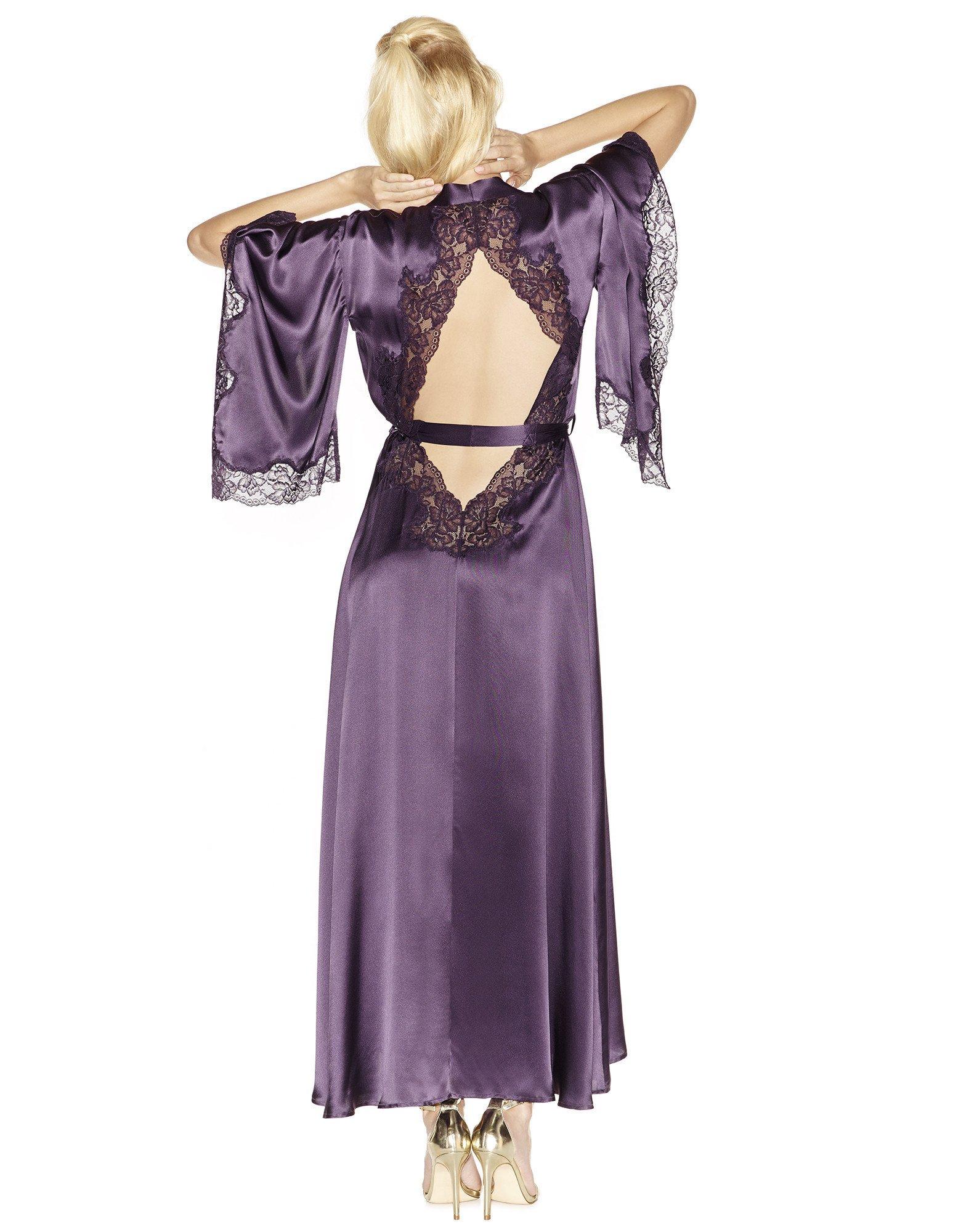 31. Estrella Long Kimono $307. S-L. Ink