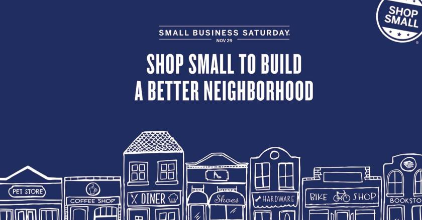 Small Business Saturday, 11/29/14