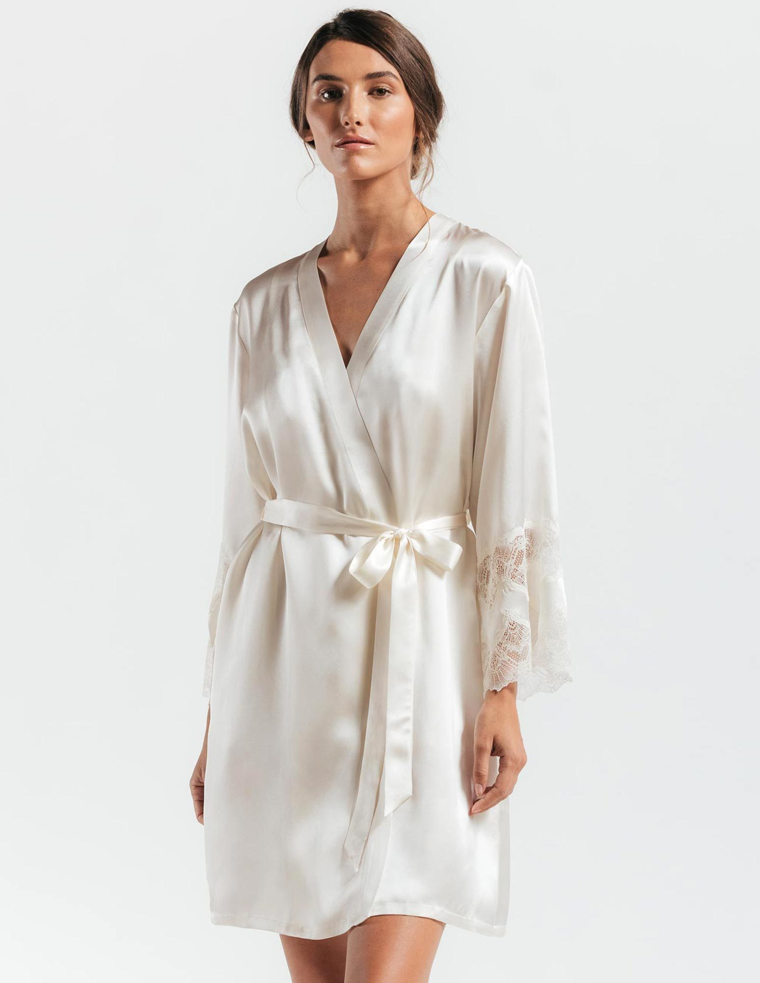 20. Thalassa Silk Robe $280. S-L.