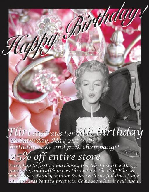 Flirt's 8th Birthday Party