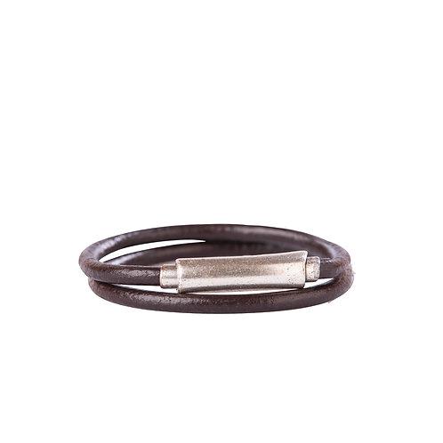 Thin Leather Cord Bracelet