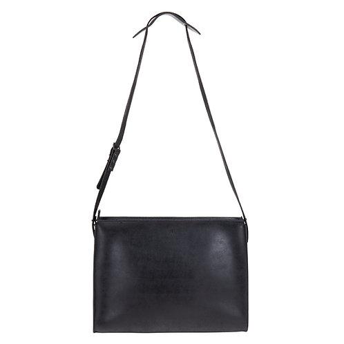 Black Shoulder Bag with Buckle detail strap