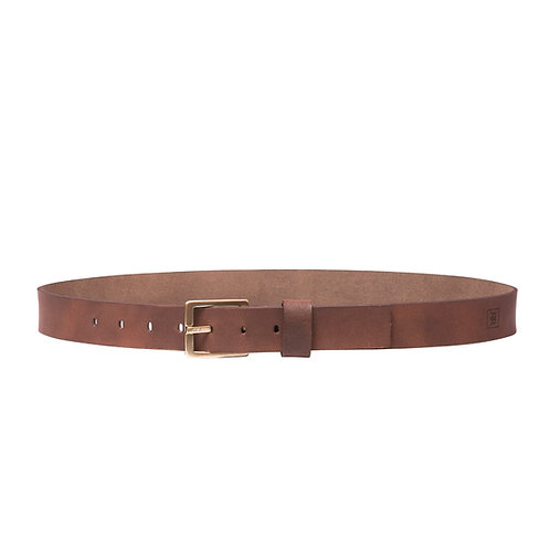 Bronze Buckle 34MM Belt
