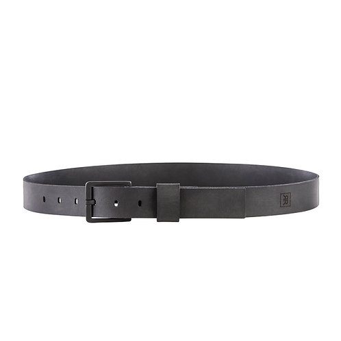 Black Matte Buckle 34MM Belt