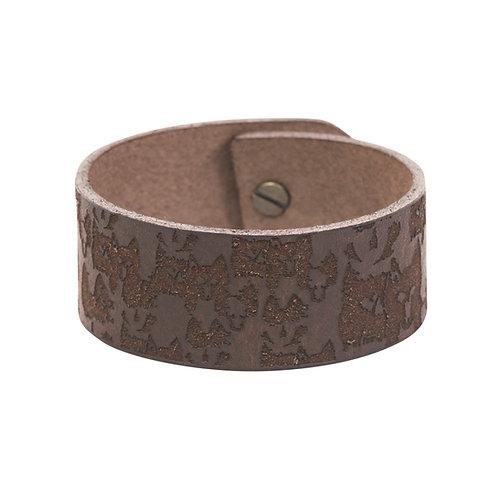 Brown wolf bracelet