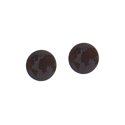Large Earth earrings