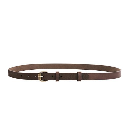 Skinny belt with Lielvardes belt pattern