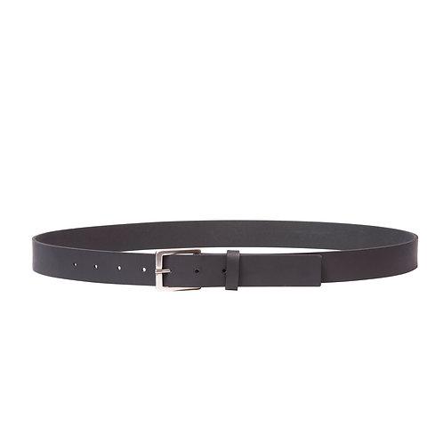 Silver Buckle 28MM Belt