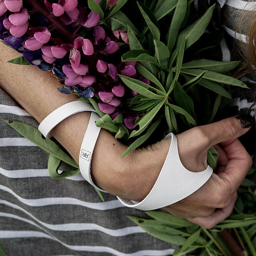 Wrap around Thumb cuff bracelet