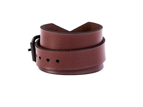 Wide Bracelet with Buckle