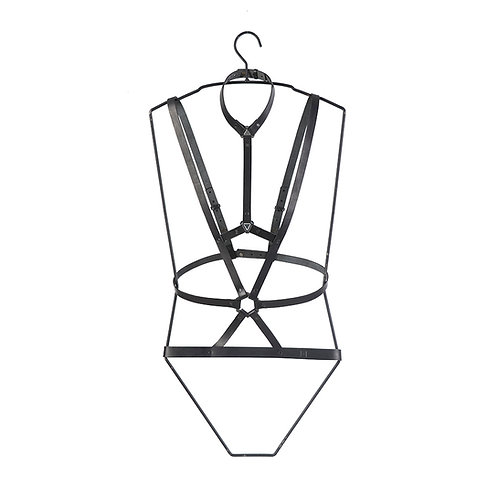 Leather Cage Harness