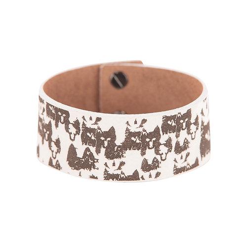 White wolf bracelet