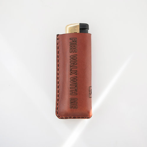 Twin Peaks Cognac Lighter case
