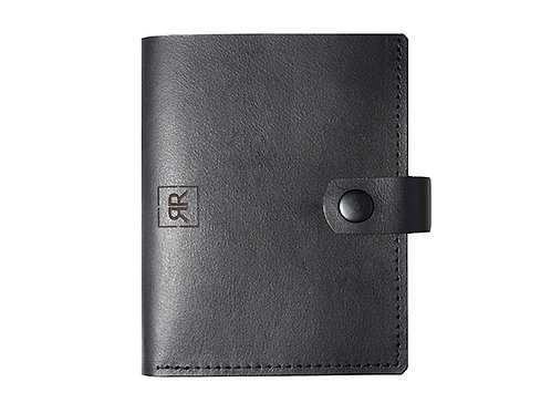 Billfold Wallet with Press-stud fastening