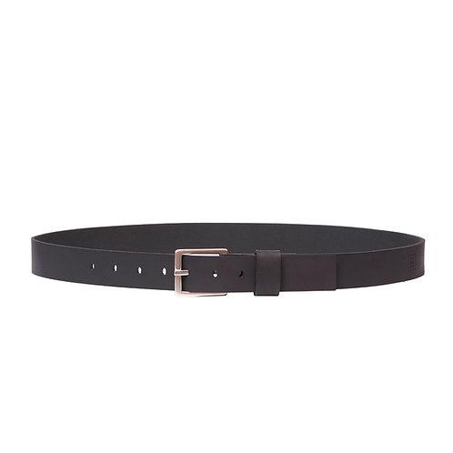 Silver Buckle 34MM Belt