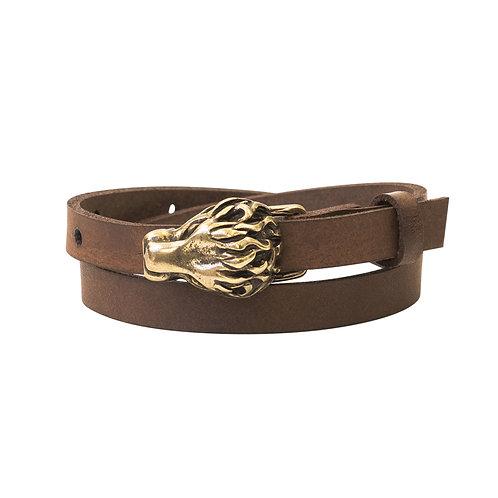 Bronze Lion buckle bracelet