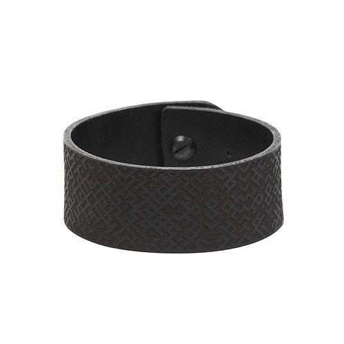 Wide Lielvardes pattern bracelet
