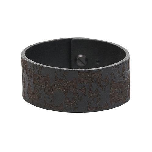 Black wolf bracelet