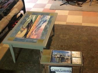 Ceramic ArtTile Furniture!
