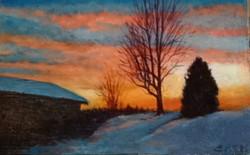 "'Christmas Tree Farm Preston, CT"""