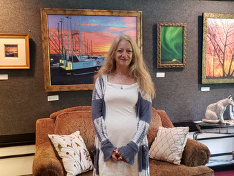 """""""Landscapes & Seascapes"""" at the Crow's Nest Gallery July 7 ~ August 5!"""