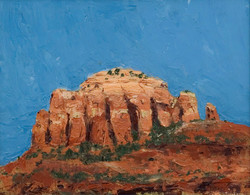 Sedona Arizona palette knife