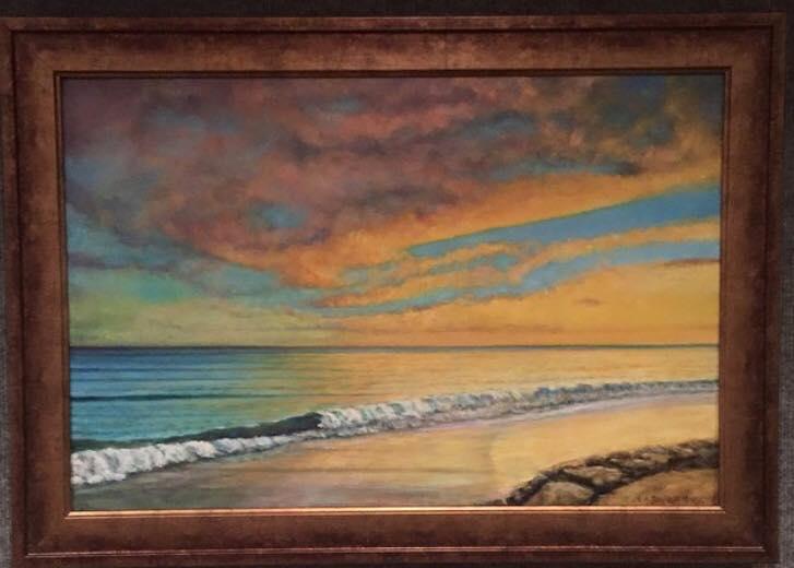 'Misquamicut Sunset'