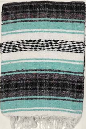 Mexican Blanket - Light Green