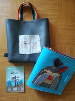 Quietbook Tasche Beispiel