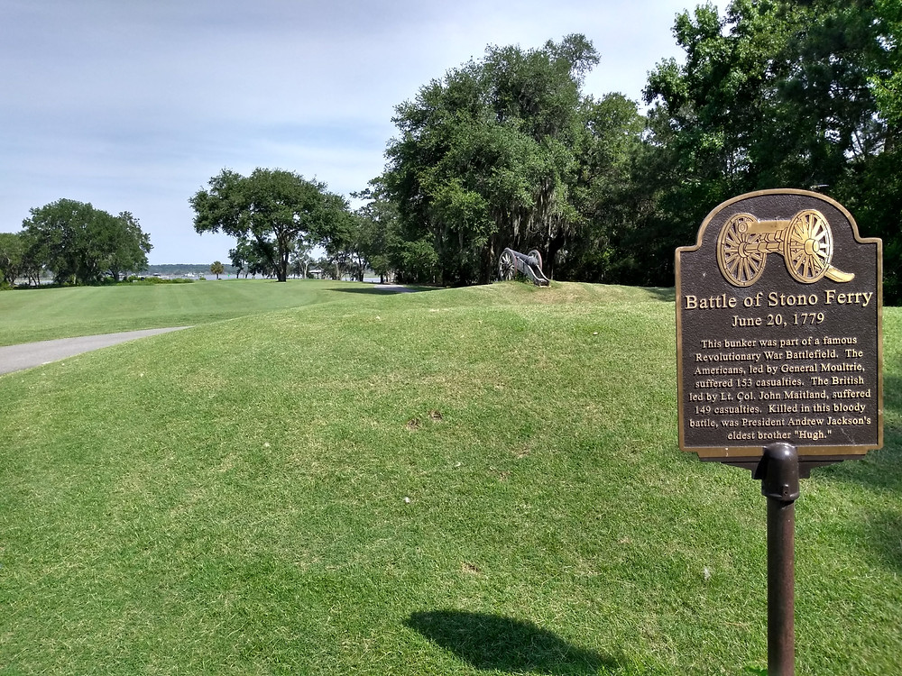 Links at Stono Ferry golf course in Charleston SC by Ron Garl