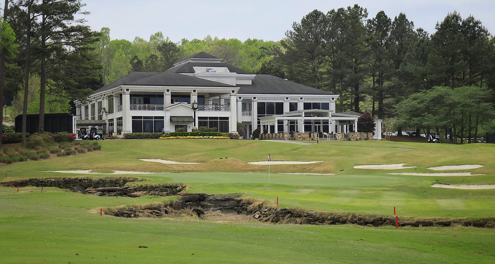 Atlanta National Golf Club in Milton Georgia by P.B. Dye