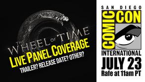 Big Wheel of Time News at Comic-Con