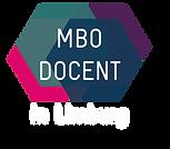 Logo wit MBO DOCENT IN LIMBURG-uitwerkin